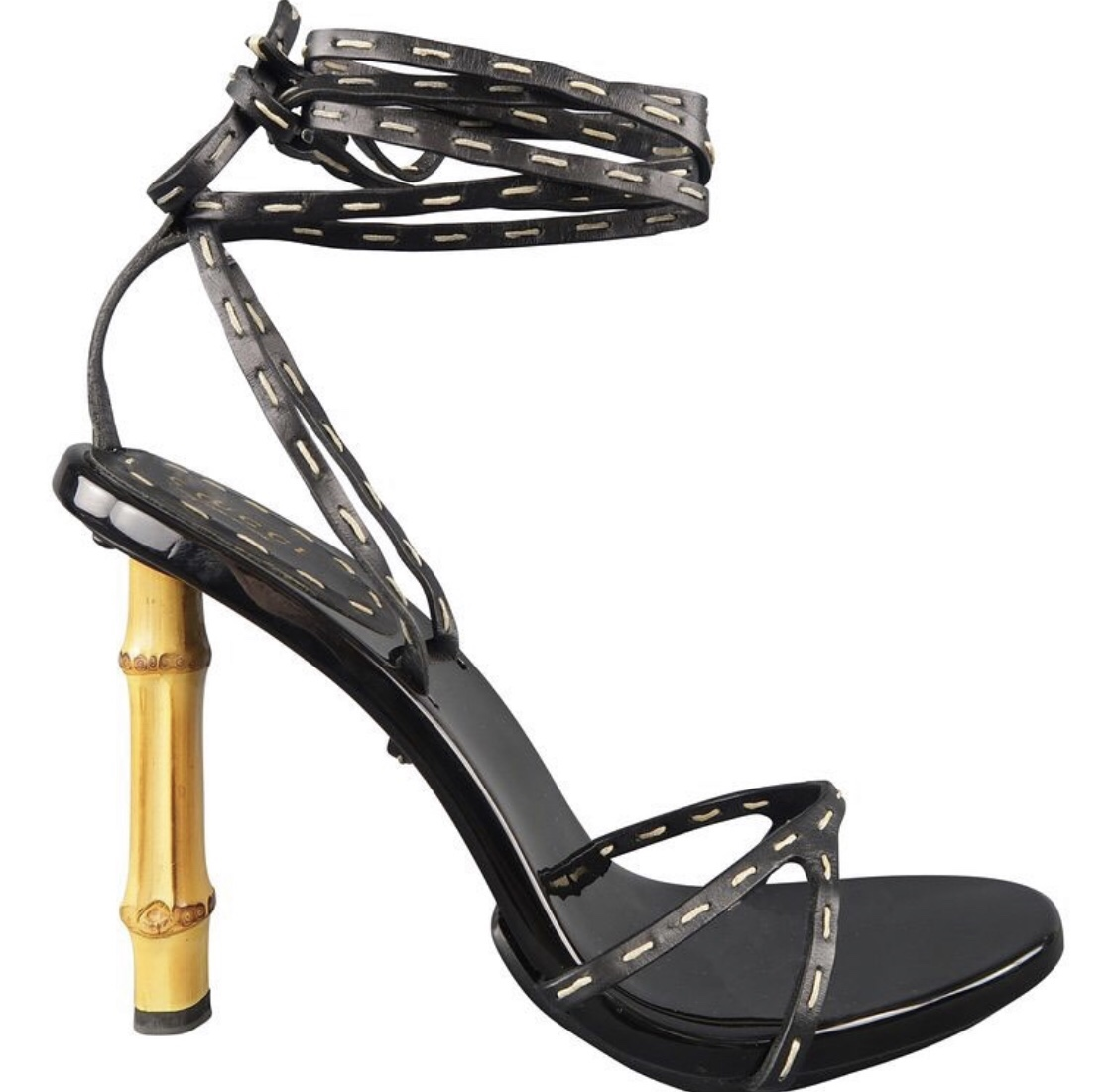 The Iconic Gucci Bamboo Sandal Heels
